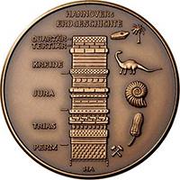 Jubiläumsmedaille 200 Jahre NGH - Rückseite