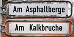 Artikel: Asphalt und Kalkstein aus Ahlem (Franz-Jürgen Harms)